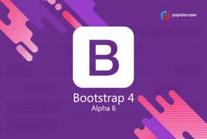 Bootstrap-4-Alpha-6