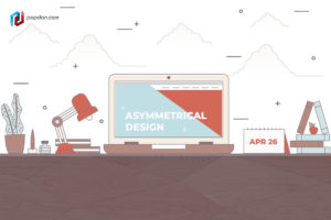 Asymmetrical Design for Your Website Whimsical Beauty Added in the Trends